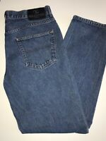 "Mens VALENTINO Classic Straight Leg Regular Jeans Size (UK) W 34"" L 32"""