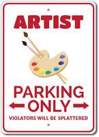 Artist Parking Sign, Artist Sign, Artist Decor ENSA1002763