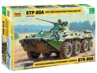BTR-80 A APC - RUSSIAN ARMOURED PERSONNEL CARRIER  #3560 1/35 ZVEZDA