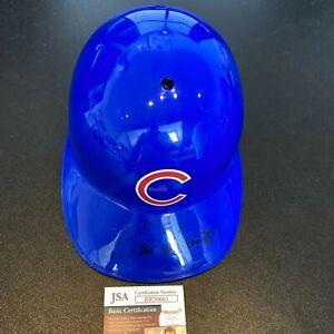 Ron Santo Signed Full Size Chicago Cubs Baseball Helmet 1969 Cubs JSA COA