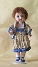 """Doll Mignonnette Poupée Repro """"J 11"""" : Googlie  14 cm"""
