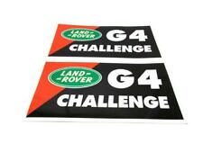Land Rover New Genuine G4 Challenge Pack of Two Stickers Vinyl Graphics G4STICK