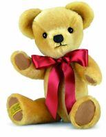 "BNWT London Gold 14"" Merrythought Handmade In England Teddy Bear"