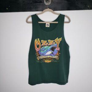 Ozzy 100% Cotton Shark Tank Top L USA Made