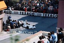 Carlos Pace Brabham BT44B de Martini Racing Monaco Grand Prix 1975 fotografía 5