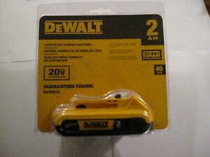 DEWALT 20V 2AH BATT DCB203
