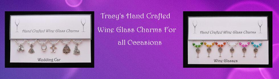Tracys Wine Glass Charms