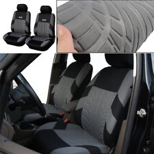 Black Classic Washable Embroidery 2 PCS Car Seat Covers(Front Set)Accessories