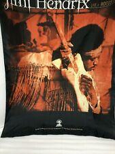 2002 Authentic Hendrix Llc Jimi Hendrix Live At Woodstock Tapestry Scene