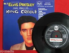 ELVIS PRESLEY -King Creole Vol 2 EP- Rare UK 1982 issue with Promo sticker/Vinyl