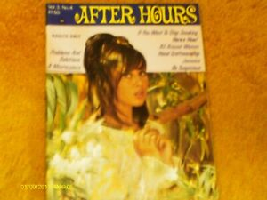 AFTER HOURS Magazine 6/66 Vol.3, #4--Like PLAYBOY--69 pp w/B+W pix,1 color (VG+)