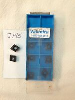 10 NEW VALENITE CCMT 32.52 CARBIDE INSERTS. GRADE: VP1510  {J145}
