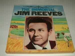 "The Immortal Jim Reeves - Box Set 6 Vinyl 12"" LPs - EX"