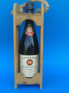 Old Original bottle of wine Carmel Israel 1965. Vintage Judaica