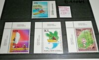 "FRANCOBOLLI PAPUA NEW GUINEA 1998 ""SPORT ATLETICA CANOA""NUOVI MNH** SET (C.5)"