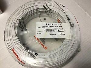 Honeywell Genesis 11015801 22/2 SOL CM/CL2 5C SB White 500'