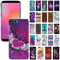 """For Huawei Honor V10 / View 10 6"""" Design Protector Hard Back Case Cover Skin"""