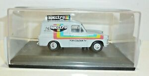 OXFORD  Die Cast ROADSHOW  Ford Anglia Van ,SPECTRA TV RENTALS,  ANG029