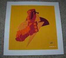 HELLBOY poster art silkscreen print Tom Whalen sn/75