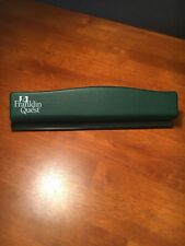 Franklin Covey Quest Planner 6 Hole Punch Green For Binder Compact Size