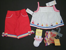NWT Gymboree Cote D'Azure 0-3 Months Sailboat Top Pants Socks Sandals