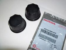 2 New genuine Honda wheel hub cap center cover 2001-2012 Rubicon  Rincon 650 680