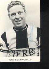 WERNER SWANEVELD cyclisme 60s wielrennen Signed VERBI