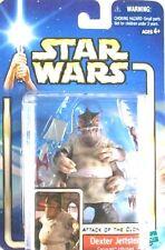 Star Wars Attack Of Clones Dexter Jettster Action Figure/AOTC 2 #16/2001 Hasbro