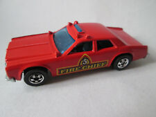 1982 Hot Wheels #5 Fire Chaser Chief Patrol Car #2639 HK (Dodge Red 1:64) Mint