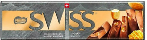 Nestle Swiss Honey & Almond Milk Chocolate 2,3,4or5x 300g BB31/01/21 OUT OF DATE