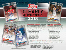 COLORADO ROCKIES 2018 CLEARLY AUTHENTIC BASEBALL 10 BOX HALF CASE BREAK #9