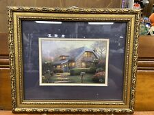 Thomas Kinkade Matted & Framed Print With Coa