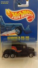 1992 Hotwheels Kenworth Big Rig # 76 7 Spoke Wheels