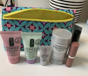 Clinique 8 piece Skincare and Makeup gift set NEW LATEST