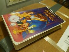 Beauty and the Beast A Walt Disney Classic VHS (1992) Black Diamond Edition.