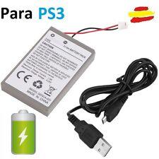 Bateria de calidad para mando PS3 Play station 3 con cable carga USB Playstation