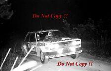 Walter Rohrl ALITALIA FIAT 131 Abarth Rally San Remo 1979 fotografia 11