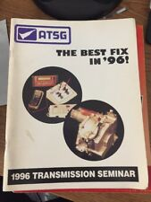 ATSG 1996 transmisison seminar tech book automatic transmission manual Domestic