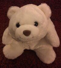"Gund White Bear Plush Snuffles 10""  #4030268"
