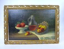 Gemälde Bild sign. Stilleben um 1880