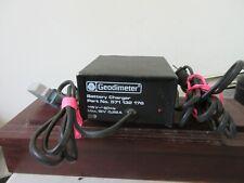 Geodimeter 571 132 176 Battery Charger Trimble