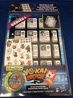 Yo-kai Watch Series 1 Yokai Tiggappa Yo-Motion Medallium Collection Book Pages