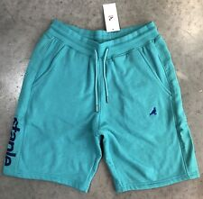 Staple Sweat-Shorts In Teal Sz. M NWT 100% Authentic!!