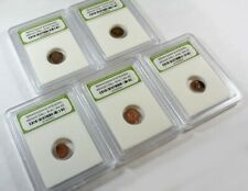 New ListingSlabbed Lot of 5 Ancient Roman Widows Mite Sized Bronze Coins c50 Bc - 400 Ad f1
