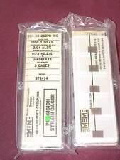 Vishay Micro Measurements Precision Strain Gage S2K-00-250PD-10C 5 pk gages NEW