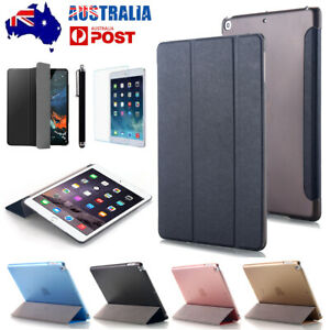 For iPad 5/6 9.7 2017 2018 Air Slim Flip Leather Case Magnetic Stand Smart Cover