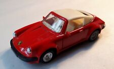 1990 Corgi Turbo Diecast Scale Model Red PORSCHE 911. C150/4/ 94310. Sports Car