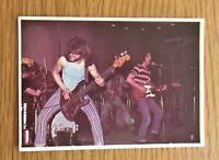 SAHB ALEX HARVEY PICTURE POP '73 VINTAGE PANINI COLLECTORS CARD 1973