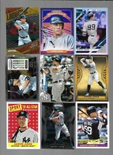 LOT OF 30-AARON JUDGE CARDS #'D CHROME INSERT BASE New York YANKEES FRESNO ST