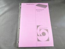 Original Service Manual Bang & Olufsen Beocord VX 5000